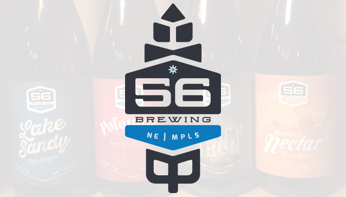 56 Brewing : Logo