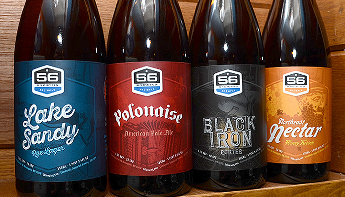 56 Brewing : Beer Labels