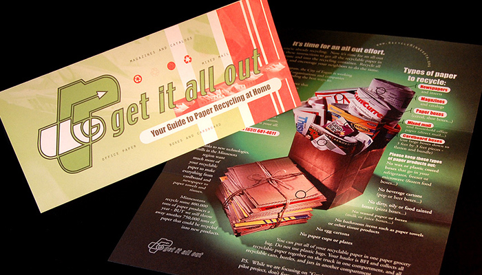 Get it all out: Print Collateral