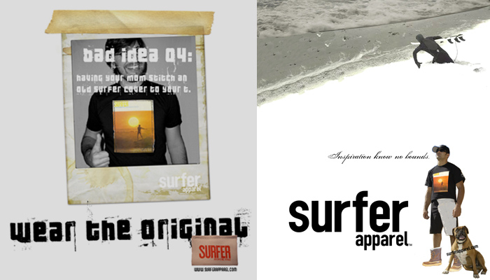 Surfer Apparel : Magazine Ads
