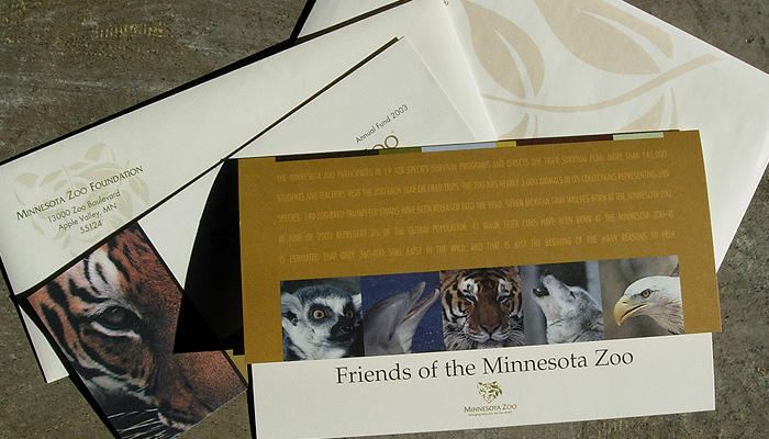 MN Zoo : Print Collateral
