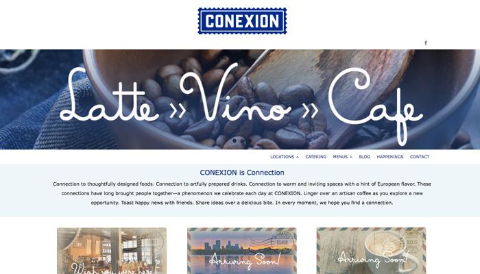 Conexion Bistro : Website
