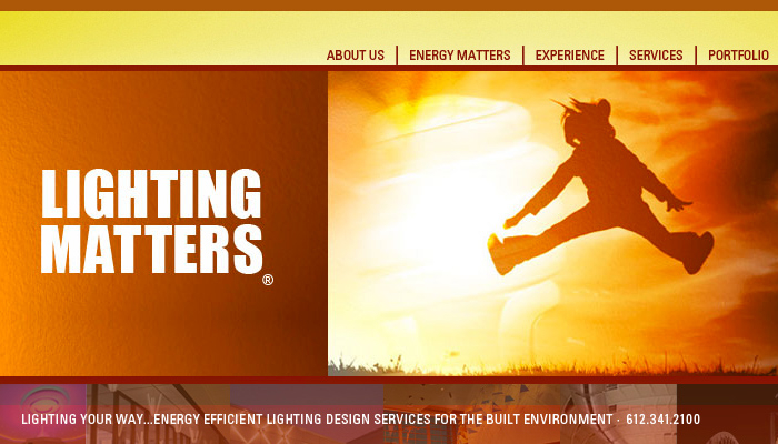 Lighting Matters : Website