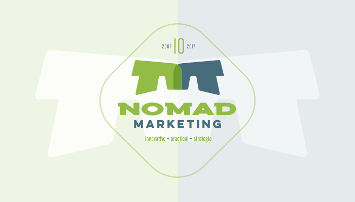 Nomad Marketing : Logo