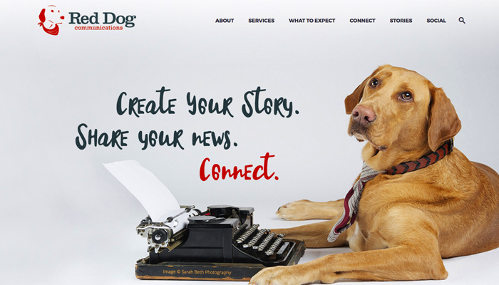 Red Dog Communications : Website